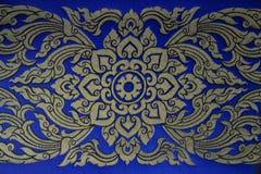 Thai fabrics patterns Stock Images