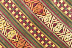 Thai fabrics patterns Royalty Free Stock Images