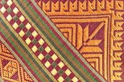 Thai fabrics patterns Stock Image
