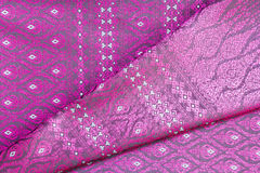 Thai fabrics patterns Stock Photography