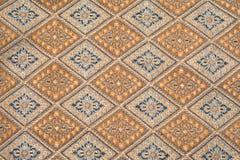 Thai fabrics patterns Royalty Free Stock Photos