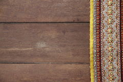 Thai Fabrics Patterns Thai Graphic Stock Photography