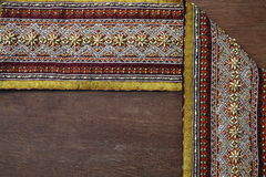 Thai Fabrics Patterns Thai Graphic Royalty Free Stock Image
