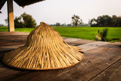 Thai farmer hat Stock Photography