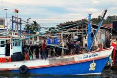 thai fartyg royaltyfri fotografi