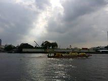 thai fartyg Arkivbilder