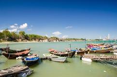 thai fartygfiskehav Arkivbilder