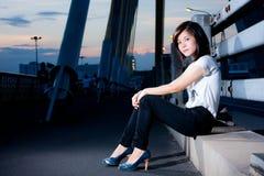 Thai fashion girl. Stock Image
