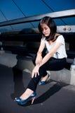 Thai fashion girl. Royalty Free Stock Image