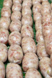 Thai ferment sour sausage Royalty Free Stock Photography