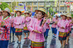 thai festival royaltyfria foton