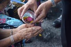 Thai festival Songkran Royalty Free Stock Photos