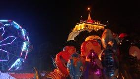 Thai festival. Traditional Festival in Thailand Stock Photos