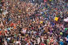 thai festivalsongkran Fotografering för Bildbyråer