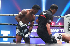 THAI FIGHT 2012 Royalty Free Stock Photography