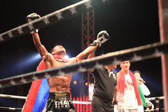THAI FIGHT 2012, Final Round Royalty Free Stock Photography