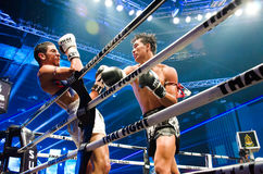 Thai Fight King of Muay Thai Stock Photos