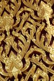 Thai fine art background Stock Image