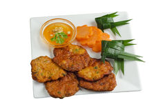 Thai fish cake Royalty Free Stock Photography