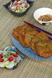 Thai Fish Cakes Stock Photography