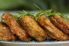 Thai Fish Cakes Royalty Free Stock Photo