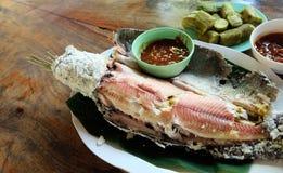 Thai Fish Menu Royalty Free Stock Photos