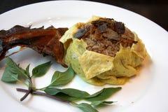 Thai fish rice Stock Images