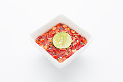 Thai fish sauce Royalty Free Stock Photo
