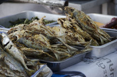Thai fish street food Royalty Free Stock Photography