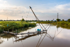Thai fish trap Royalty Free Stock Images