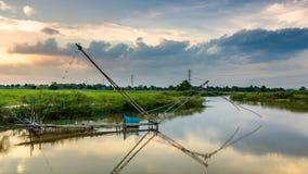 Thai fish trap Royalty Free Stock Photography