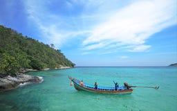 Thai Fisherman Royalty Free Stock Image