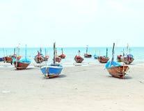 Thai fishermen Stock Photo