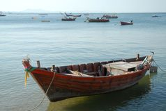 Thai fishing boat . Royalty Free Stock Images