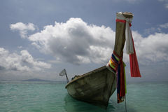 Thai fishing boat Stock Image