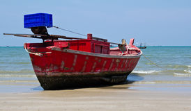 Thai fishing boat Royalty Free Stock Photos