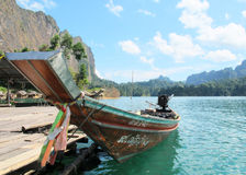 Thai fishing Boat Royalty Free Stock Image
