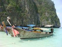 Thai fishing boat Stock Photos