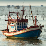 Thai fishing boat Stock Photos