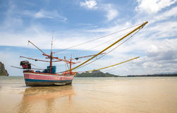 Thai fishing boat Stock Photo