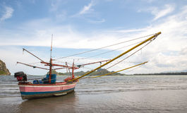 Thai fishing boat Royalty Free Stock Images