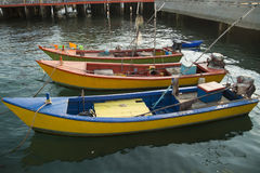 Thai fishing boats Stock Photos