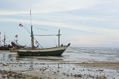 Thai fishing boats Stock Images