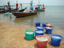 Thai fishing harbor Stock Photography