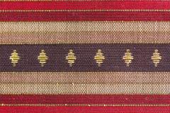 Thai Flag Designed Silk Royalty Free Stock Images