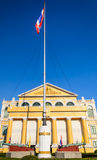 Thai flag at Ministry of Defense in Bangkok Royalty Free Stock Photography