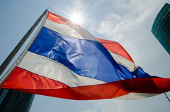 Thai flag Royalty Free Stock Photography