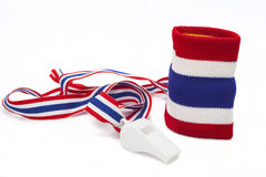 Thai Flag Wristband Royalty Free Stock Photography