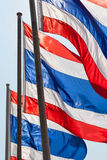 Thai flags Royalty Free Stock Images