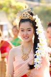 thai flicka Royaltyfria Foton